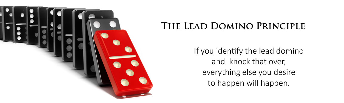 Lead domino principle