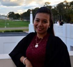 Administration Assistant Celene Grace Zulla