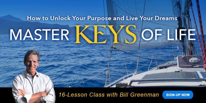 Sail-Boat-Sailing-Across-Lake-Text-reads-Master-Keys-of-Life